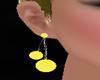 !  YELLOW  EARRINGS