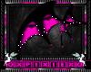 pink & black wings