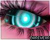 Cyborg Doll Eye Teal