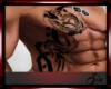 Dragon rib right tattoo