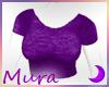 SS Baby Tee Purple