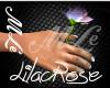 (MLe)Lilac Rose handheld