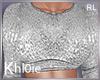 K Silver Nye Top