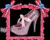 Zapatilla rosa-SHOE LEFT
