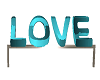 Teal Ignition Love Bench