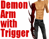 Demon Arm-Red