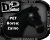 [D2] Horse: Zaino