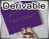 Headsign Deriveable