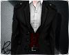 Vintage Suit Red Vest
