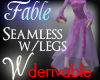 *W*Fable Dress Legs Muse