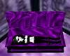 purple fantasy coffin