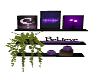 Temps Purple Shelf