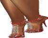 Red Bling Heels