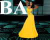[BA] Yellow Lady Gown