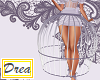 -Kyra- Purple Cage Skirt