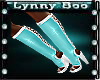 !Snow Angel Boots Teal