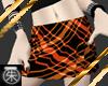 }T{ Orange n Black skirt