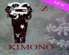 Kimono White Butterfly