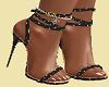 Matching Heels Black/Gol