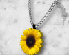 ` Sunflower necklace