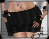 SD. Black Mini Skirt RL
