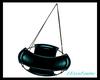 LXF Blue swing chair