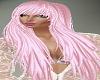 Long Pink Diva Hair