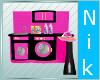 Pink & Black Kid laundry