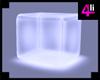 Cube White Sit