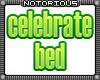Celebrate Bed