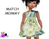 child blue rose dress