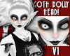 GOTH DOLLY HEAD 1