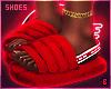 в. UGG Slides Red
