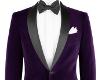 Purple Velvet Dinner Tux