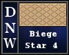 Biege Star Four Rug