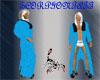 Blue Bath Robe