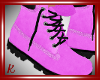 ♥ Polly Boots-Pink
