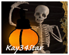 Halloween Skeleton Lamp