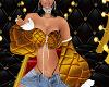 FLIRTATIOUS GOLD TOP