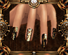 {Nyphis} Steampunk nail