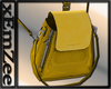 MZ - Suede Bag Yellow