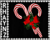 Candy Cane Wall Decor