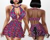 PinkSpanishPattern Dress