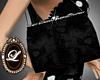 Liz black diamond purse