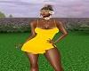 Sum. Ruffles Yellow Slim