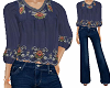 TF* BOHO Top and Jeans