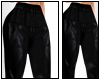 $Leather Joggers|Small|B