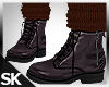Fall Boots w/Sock Brown