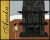 AT - Black Fireplace
