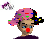 Fun Pink Clown Hat